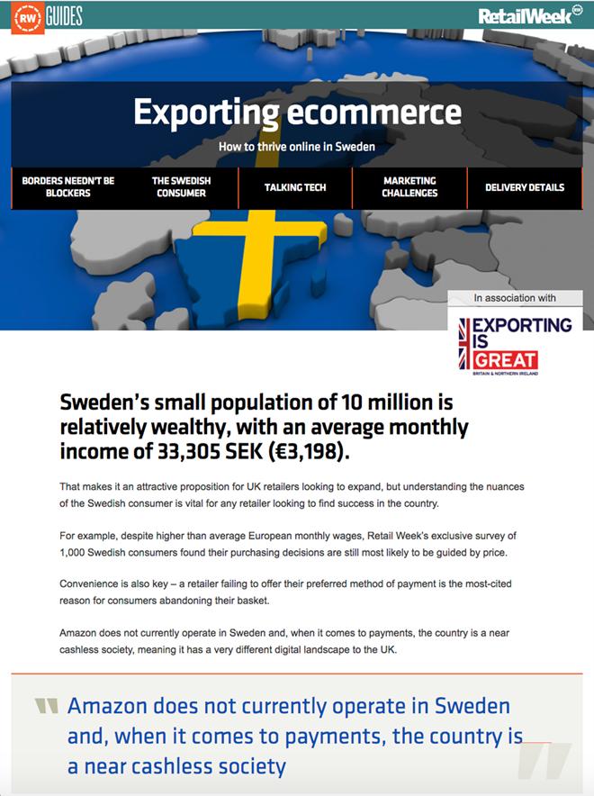 DIT Sweden cover